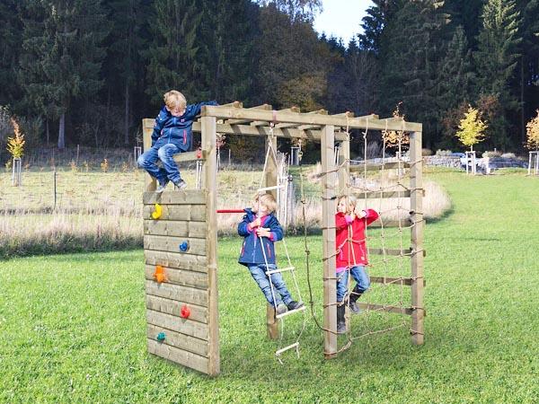 Klettergerüst Outdoor Holz : Gieco holz handgefertigte spielgeräte gartenholz und