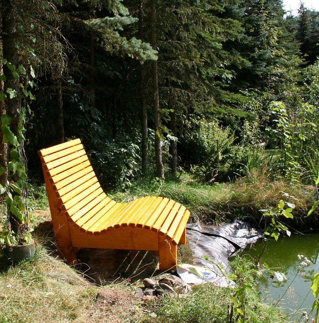 relaxliege mia farbton kiefer gieco holz. Black Bedroom Furniture Sets. Home Design Ideas