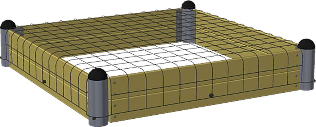 sandkasten pipe gieco holz. Black Bedroom Furniture Sets. Home Design Ideas